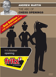 Andrew Martin: ABC of Chess Openings 2nd edition (DVD en inglés)